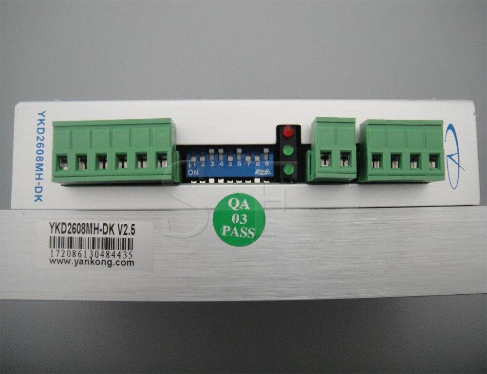 Controlador de motor paso a paso DC marca YAKO, YKB2608MH-DK para - Piezas para maquinas de carpinteria - foto 4