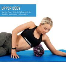 Yoga Fitness Block EVA Foam Shaft Column Roller Body Shaping Tissue Massage Pilates Equipment Supplies