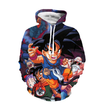 Anime Dragon Ball Z Goku 3D Sweatshirt Fashion Pullover Hoodies