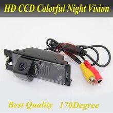 Venta caliente posterior del coche cámara de visión para Hyundai IX35 HD visión nocturna del CCD de color del revés del coche sistema de aparcamiento de cámara