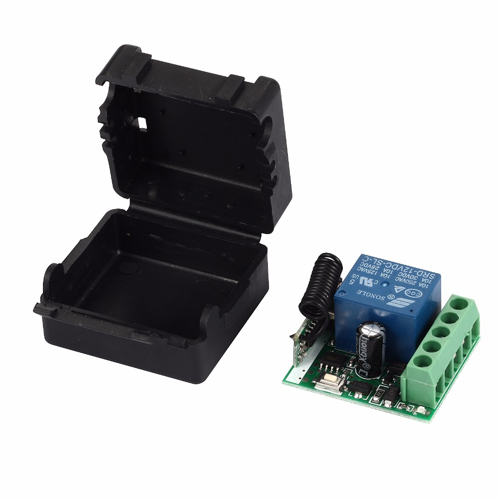 Image 3 - 433MHz Universal  Wireless Remote Control Switch DC 12V 1CH relay Receiver Module RF Transmitter 433 Mhz Remote Controls-in Remote Controls from Consumer Electronics