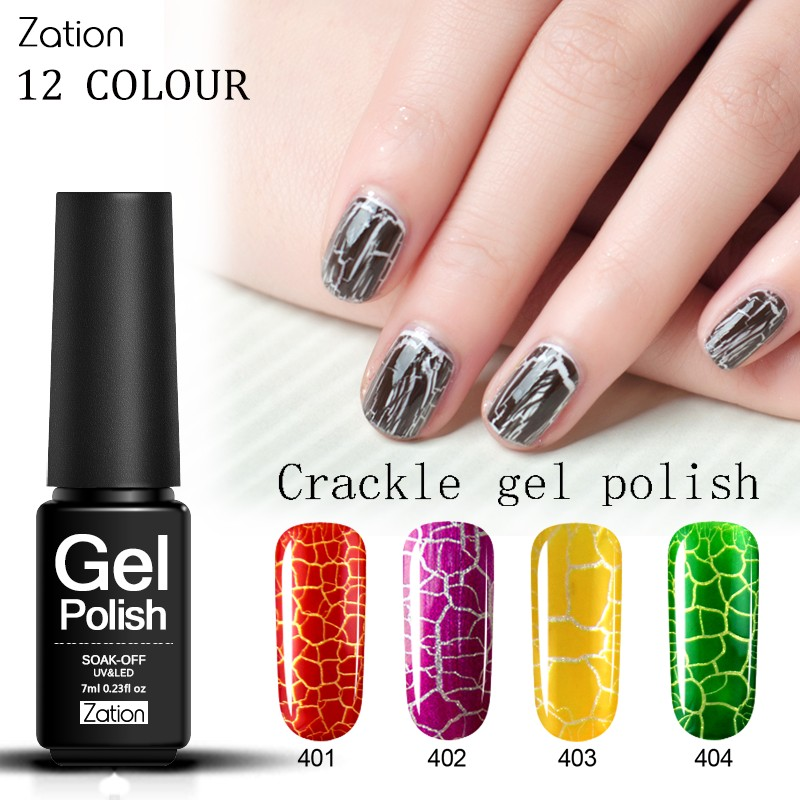 Zation Photography Primer Nail Polish Varnish Crack Nail
