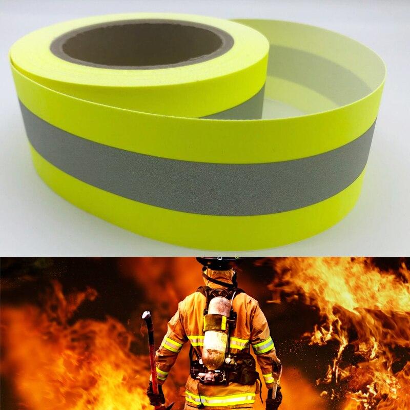 Светоотражающий огнестойкий тканевый материал со 100% хлопчатобумажной тканью