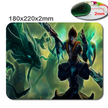 Jade Dragon Wukong mouse pad lol pad mouse League laptop mousepad cheapest gaming padmouse gamer of Legends keyboard mouse mats(China)