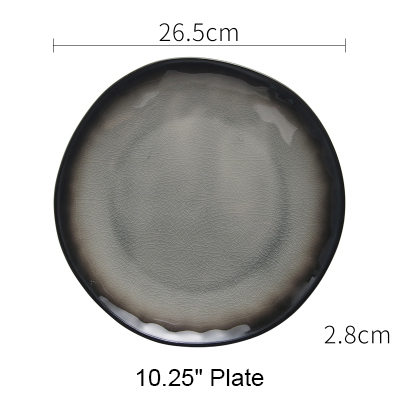 10 inch flat plate