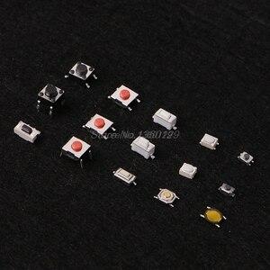 Image 5 - Тактильный кнопочный переключатель, 750 шт., 15 значений, микропереключатель для MP3, MP4, ЖК монитор, автомобильный пульт дистанционного управления, мгновенный ассортимент
