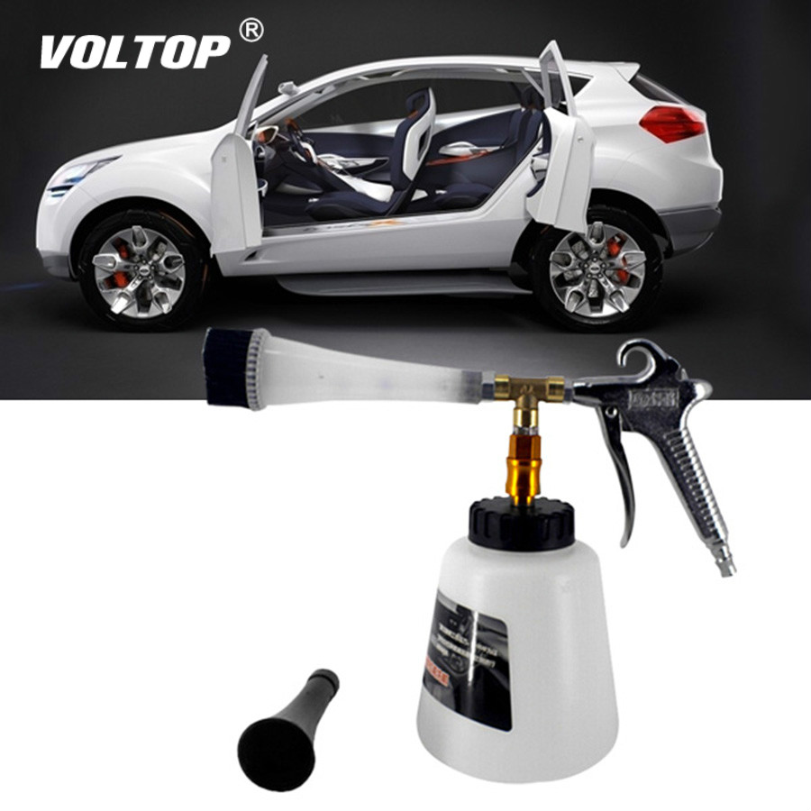Car Wash Water Gun Care Maintenance Snow Foam Lance High Pressure Blowing Interior Deep Cleaning Washer With Bucket Nozzle