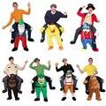 Em estoque, 23 estilos me levar ride on urso trajes oktoberfest calças novidade engraçada animal dress up fantasia mascote trajes