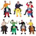 In stock,23 Styles Carry Me Ride on Bear  Oktoberfest Costumes Animal Funny Dress Up Fancy Pants Novelty Mascot Costumes