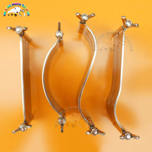 Image 2 - Professional Ear Cropping Clamp Pitbull Dog Ear Cropping Tools Guide Clamps Veterinary Instruments