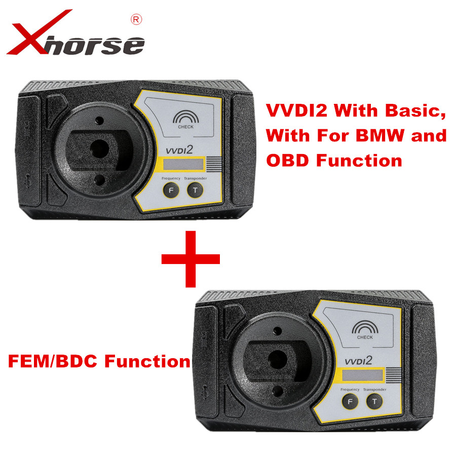 Original Xhorse VVDI2 Commander Key Programmer With Basic For BMW and OBD Functions Newly With FEM/BDC Function Authorization original xhorse vvdi2 commander key programmer with basic bmw and obd functions