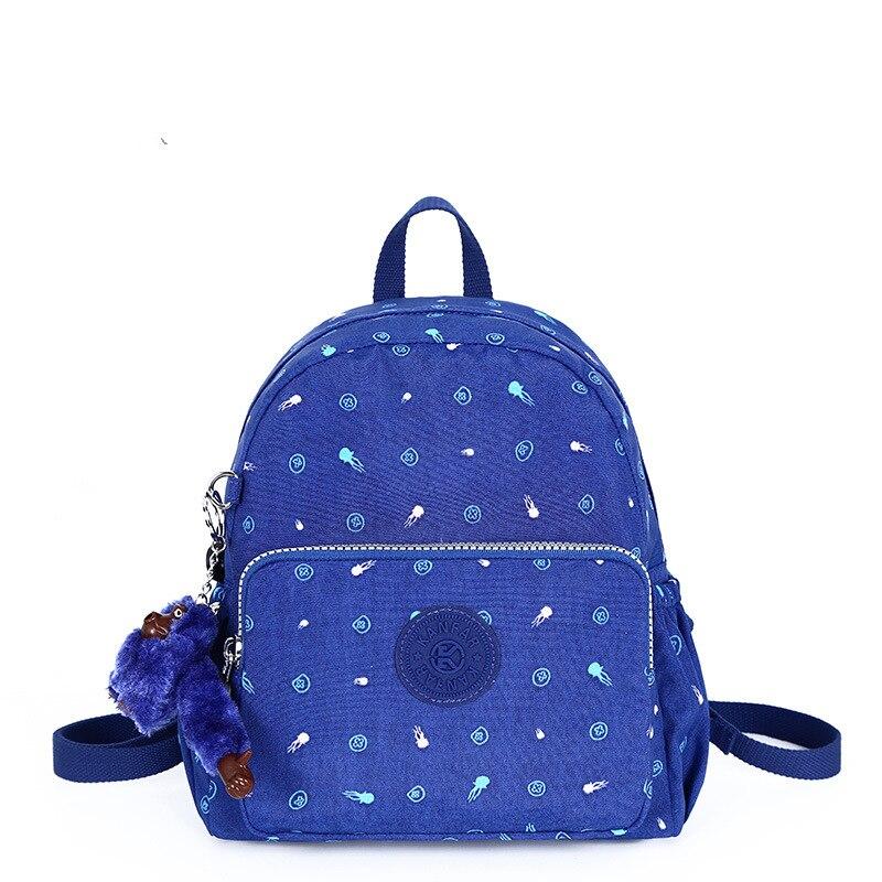 Original nylon mini Backpack women Bolsa Kip style Back pack School Backpack woman bagpack small Travel Monkey Bag Mochila mujer