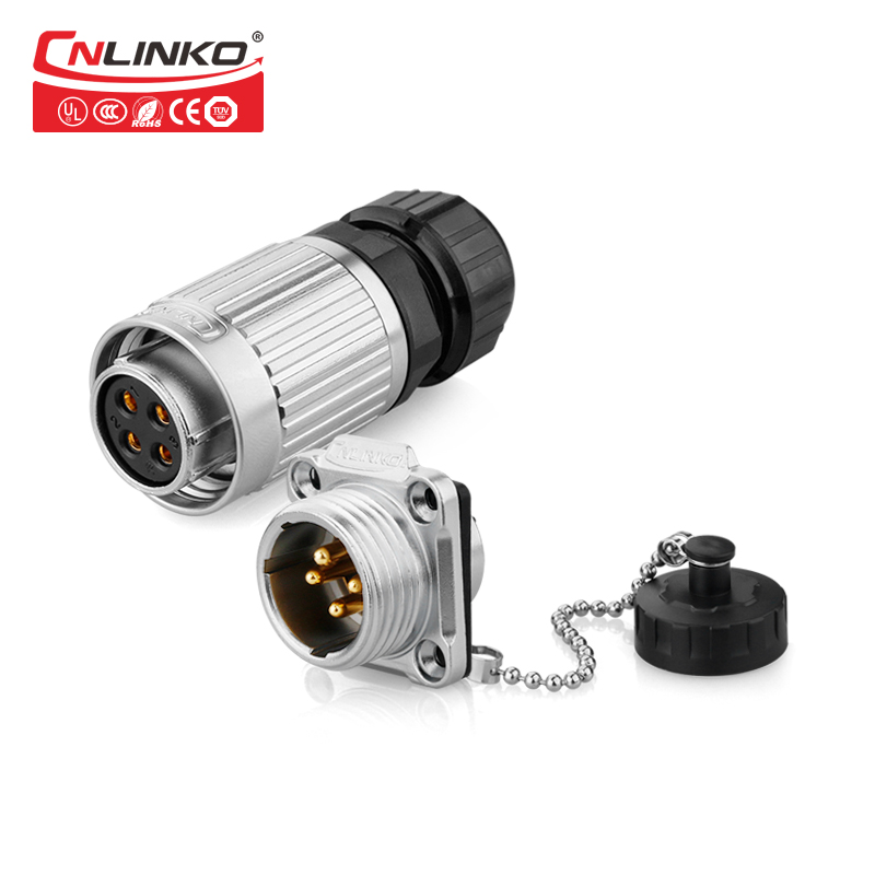 CNLINKO Outdoor Industrial Connector DC Power Jack Wire Fast Cables Led Light IP67 Waterproof Plug Socket ConnectorCNLINKO Outdoor Industrial Connector DC Power Jack Wire Fast Cables Led Light IP67 Waterproof Plug Socket Connector