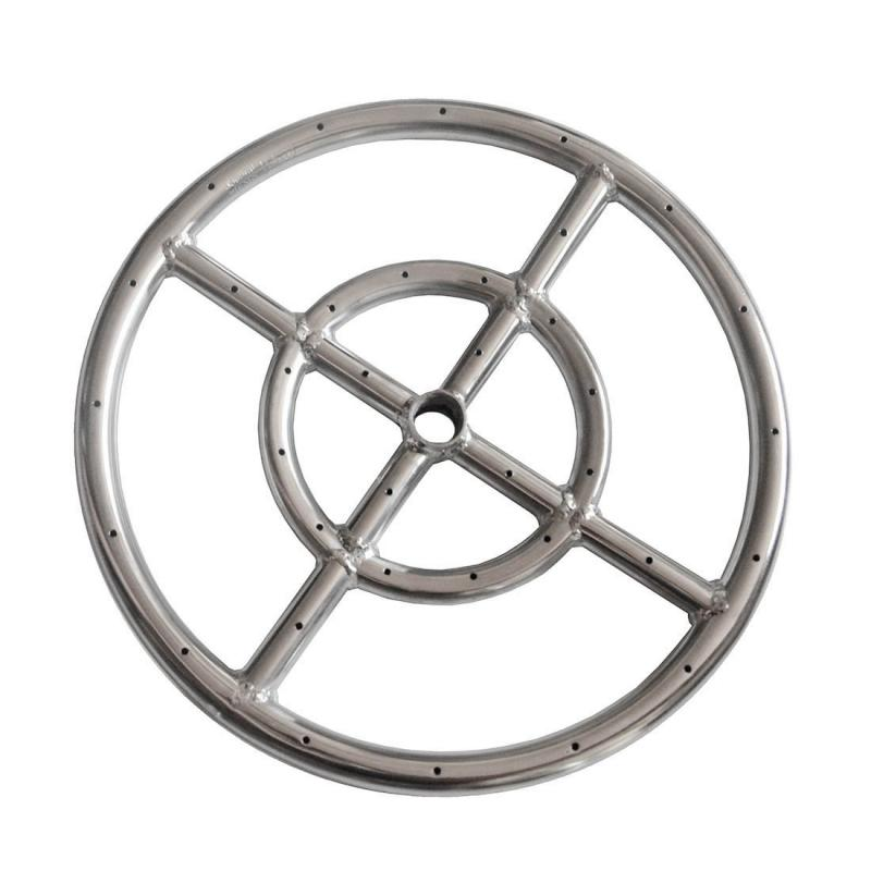 EARTH STAR 12 INCHES 304 Stainless Steel Propane Fire pit Ring Burner promotion price