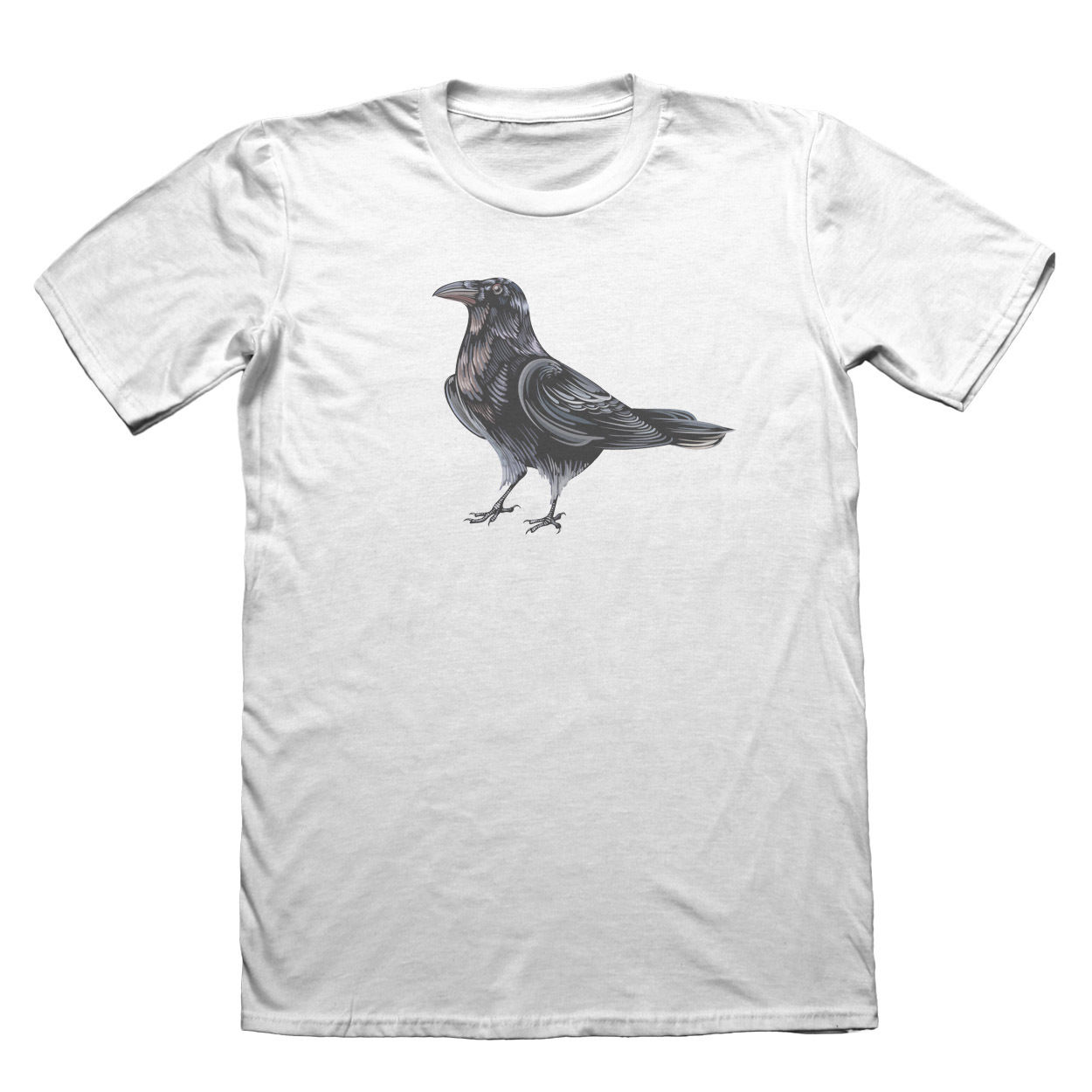 Raven Crow Design T-Shirt - Mens Fathers Day Christmas #9191