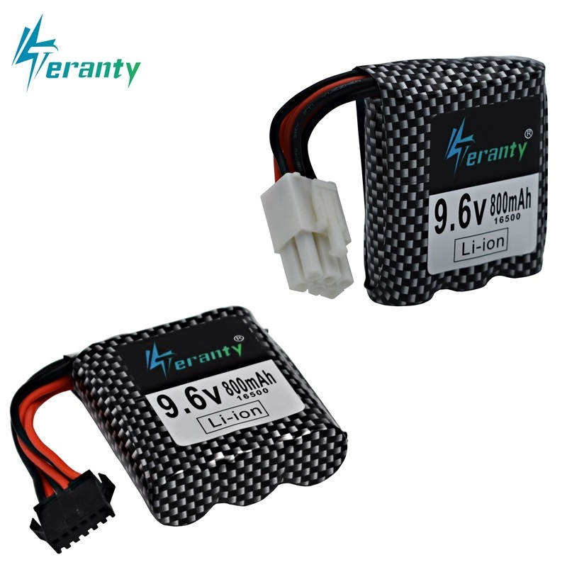 9.6v Li-ion Battery For 9115 9116 S911 S912 RC Car Truck Spare Upgrade 9.6V 800mah 9115 9116 Rechargeable Battery For Toys Car