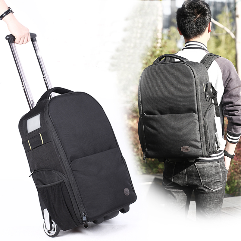 Lietu T-80 Camera Bag Trolley Backpack Camera Bag Leisure Backpack Camera Digital SLR