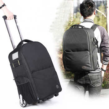 Lietu T-80 Camera Bag Trolley Backpack Camera Bag Leisure Backpack Camera Digital SLR - DISCOUNT ITEM  45% OFF All Category