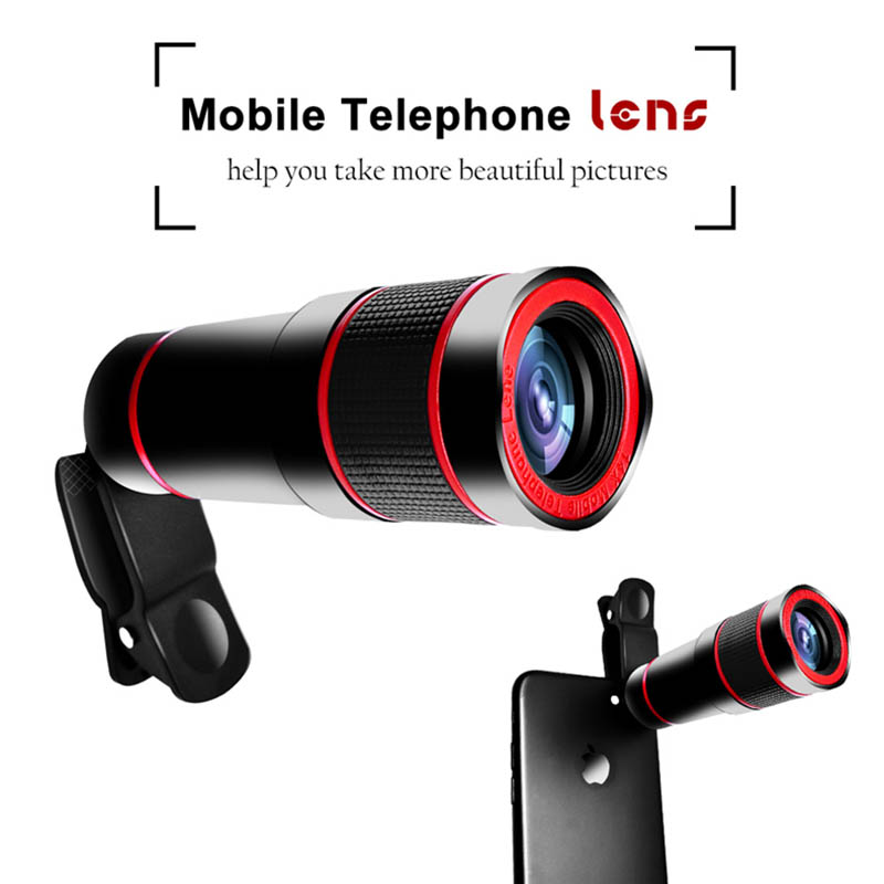 Image 3 - Mobile Phone Camera Lens 14X Zoom 4K HD Telephoto Phone Lens Monocular Telescope Camera With Universal Clip for All Smartphone-in Monocular/Binoculars from Sports & Entertainment
