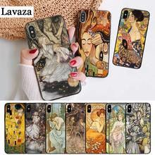 Lavaza art ALPHONSE MUCHA Slim Design Silicone Case for iPhone 5 5S 6 6S Plus 7 8 11 Pro X XS Max XR
