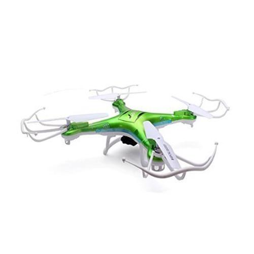 ABWE JJRC H5P FPV Quadcopter 4 CH 6 Axis Gyro 2.4GHz RC Drone with 200W HD Camera CF Mode 3D Eversion LED Light (Green) jjrc v686k wifi version 6 axis gyro 2 4g 4ch fpv quadcopter with camera one press return and cf mode original box