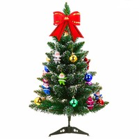 Artificial Christmas Tree Set With Accessories Ornaments Christmas Ball Gift Box Christmas Decoration Supplies For Outdoor