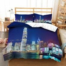 Prosperous city 3D bedding set Duvet Covers Pillowcases comforter setss Beautiful bedclothes bed linen
