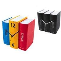 リロイ·デ·パレー壁時計duvar saati送料無料/1ピース人格ヴィンテージ図書/三色辞書壁時