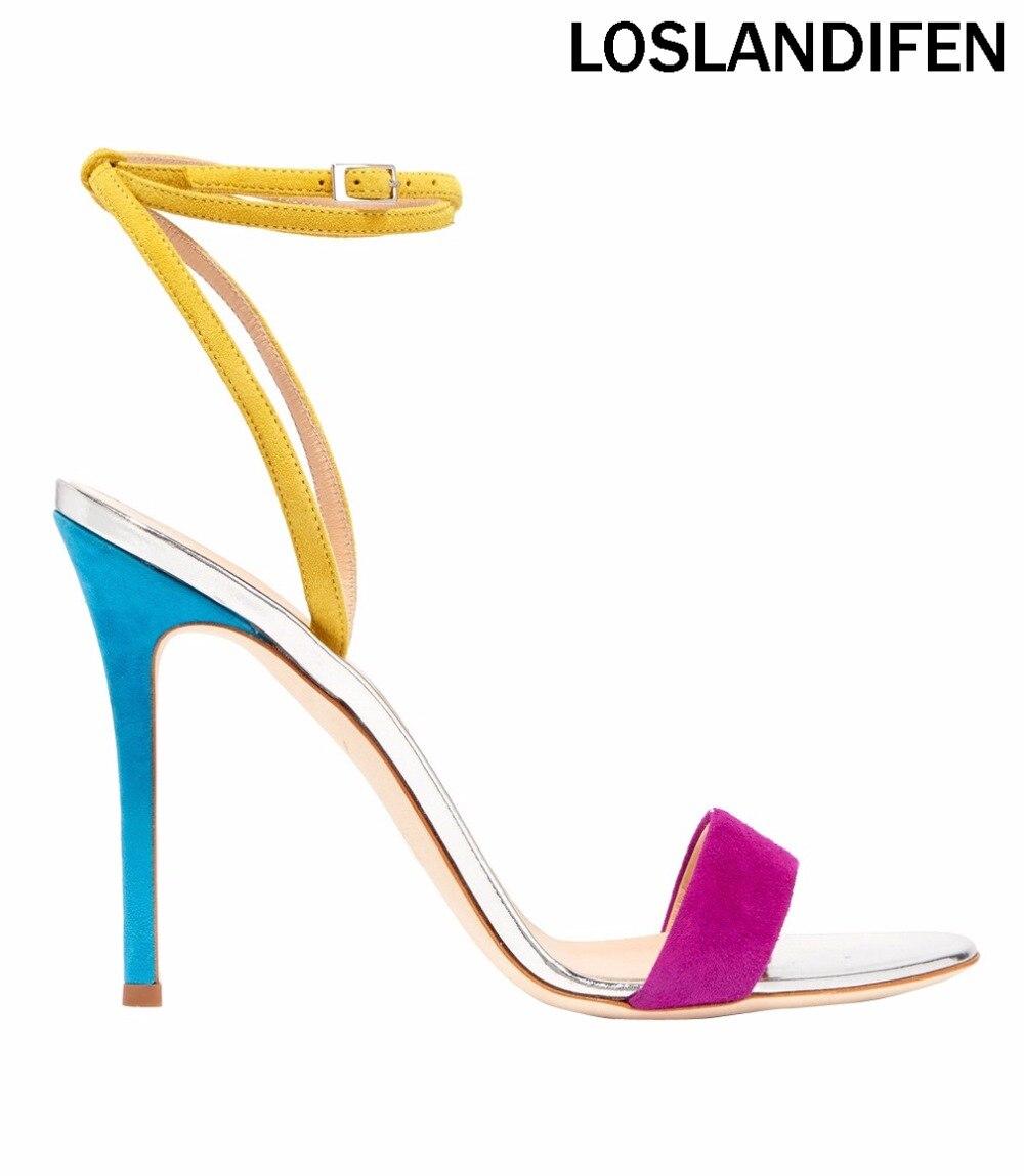 Para mujer hechos a mano D'orsay correa del tobillo zapatos de tacón - Zapatos de mujer