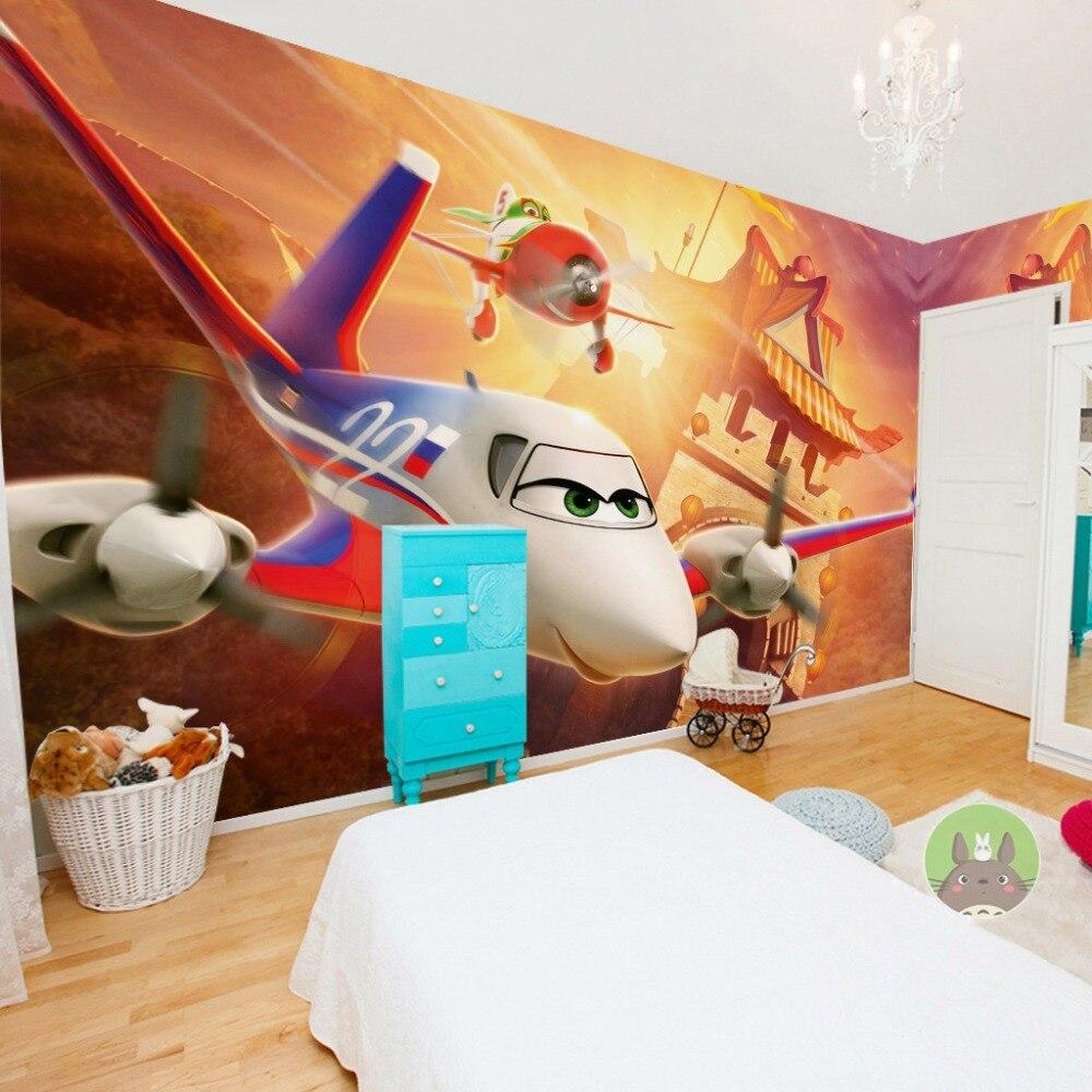 Behang kinderkamer vliegtuigen - Wallpaper volwassen kamer zen ...