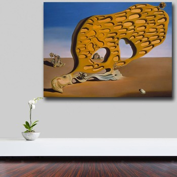 Salvador-dali-Surrealism is the mystery of desire Canvas Painting For Living Room Home Decor Oil Painting On Canvas Wall Art 3