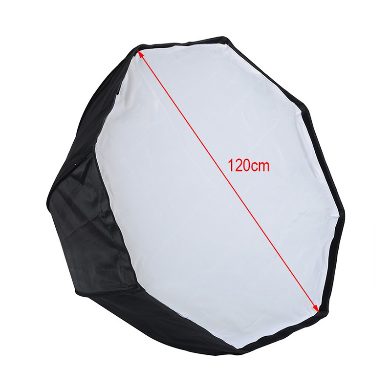 Godox 120cm 48 Octagon Umbrella Flash Softbox Studio Reflector For Camera Speedlite godox sb bw 120 120cm gosbo120bw