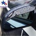 2Pcs Car Rearview Mirror Rain Blades Car back mirror eyebrow rain cover for VW ford focus 2 3 Hyundai solaris Mazda 2 3 6 CX-5