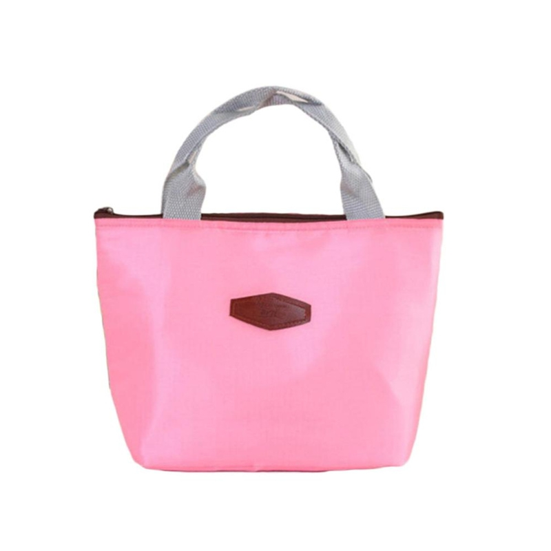 Drop Shipping Portable Insulation Package food lunch Bag Thermal Cool Cooler bags women s Picnic Handbag
