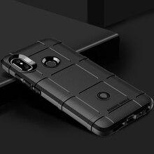 Silicone Case For Xiaomi Redmi Note 5 Pro Cases Army Armor Protective Shield Cover Coque for Bumper