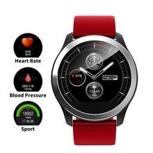 ساعة ذكية Masajeador المعصم مراقبة ضغط الدم ECG + PPG معدل ضربات القلب الرقمية ضغط الدم متر اللياقة البدنية المقتفي Smartwatch