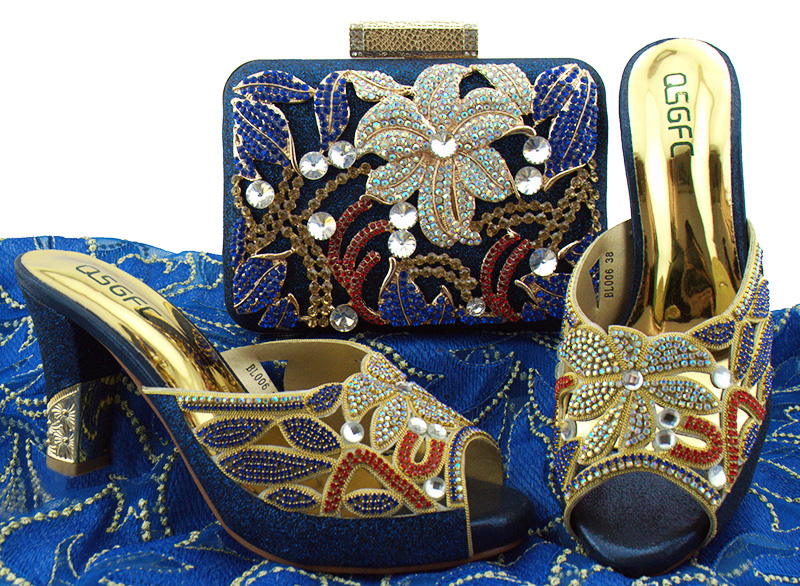 Latest Royal blue Italian Designer Shoes and Bag Matching Set African Shoes and Bag Set for Wedding Ladies Sandals with Heels inc black white women s size xl floral print keyhole back seamed blouse $69