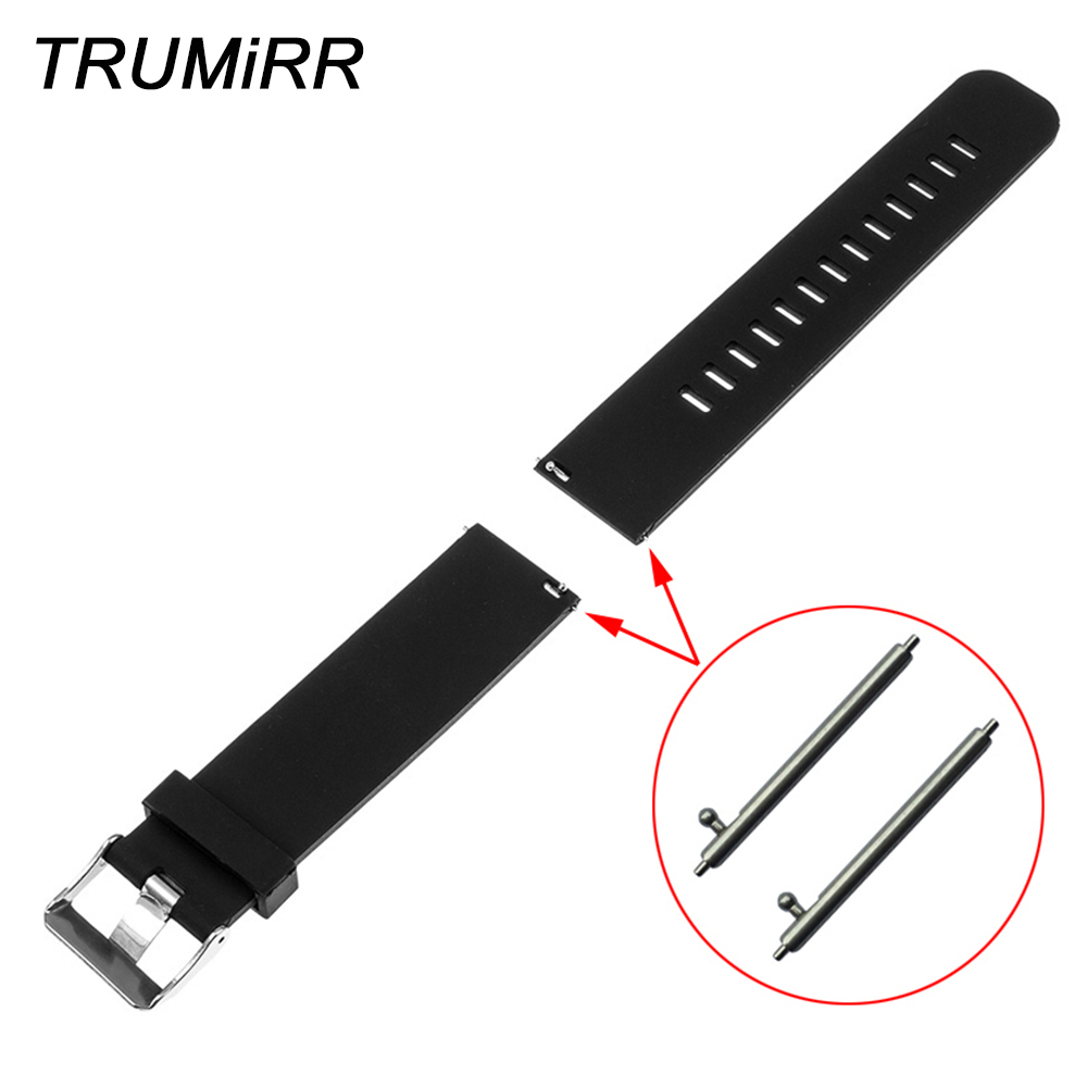 22mm Silicone Rubber Watch Band Quick Release Strap for Pebble 1 1st Gen (First Generation) Wrist Belt Bracelet Black Blue Red 22mm silicone rubber watch band quick release strap for pebble 1 1st gen first generation wrist belt bracelet black blue red