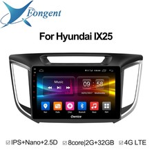 For HYUNDAI IX25 2014 2015 2016 Car Intelligent Multimedia Player GPS Navigator Stereo Aud