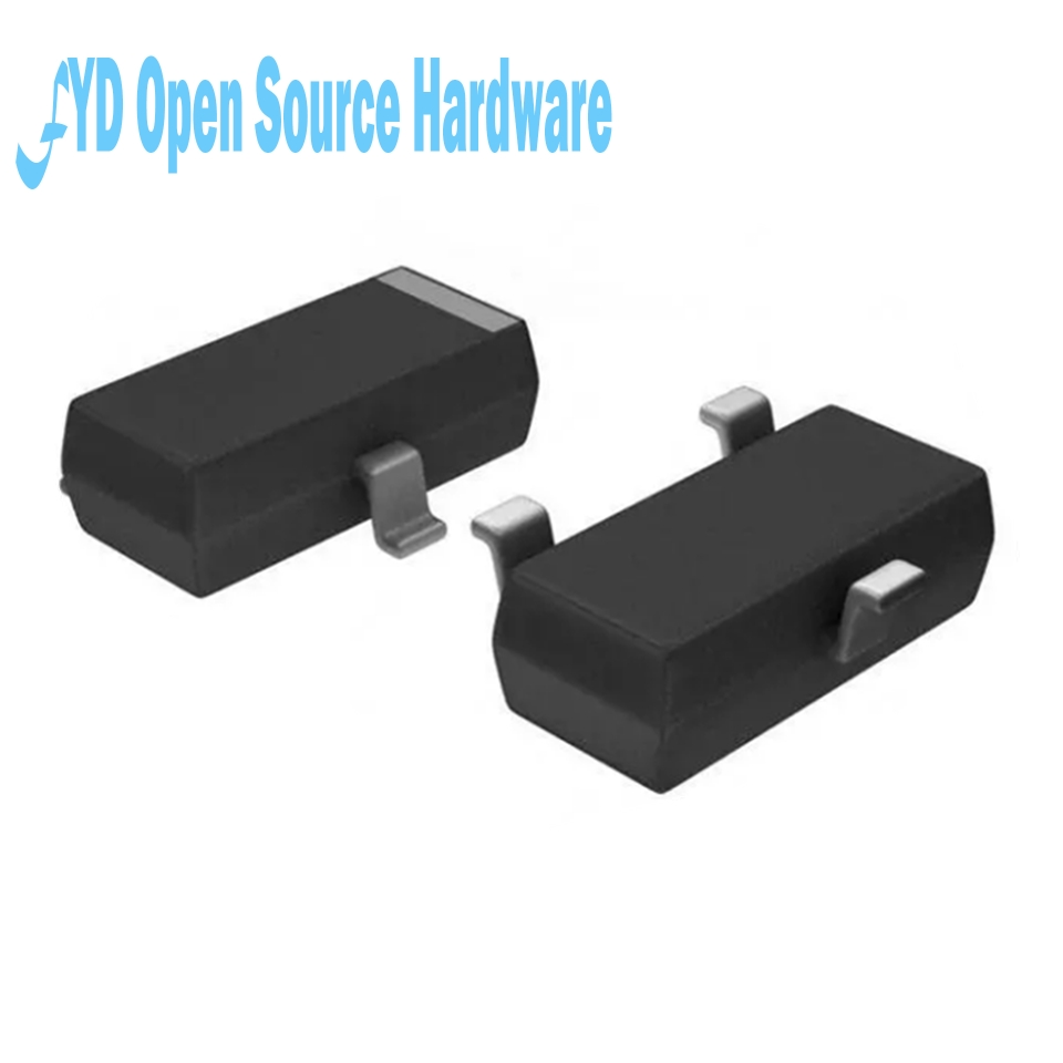 100pcs P Channel MOSFET SI2301 A1SHB 2.3A 20V SOT23 MOS Tube-in ...