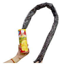 Halloween Party Magic Potato Prank Props Potato Snake Tricks Chip Can Jump Fake Snake April Fool Day Funny Tricky Toys(China)