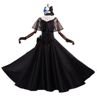Brdwn Fate/Grand Order Fgo Women's Alter 2years Cosplay Costume Long Rode Gothic Evening Dress Gown