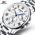 Relojes hombre carnival marca de lujo para hombre reloj mecánico automático relojes de los hombres de moda casual de negocios reloj de los hombres relogio