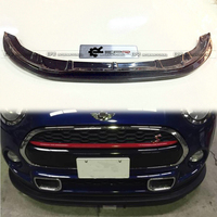 For F56 Mini Cooper S JDM Front Lip (S Only) In Car Bumpers Carbon Fibre Front Bumper Lip Wing