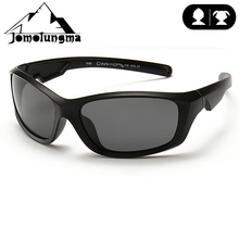 Jomolungma поляризованные солнцезащитные очки для детей с чехлом для мальчиков и девочек, детские очки для рыбалки, пешего туризма, спортивные очки вне UV400, защита D8199