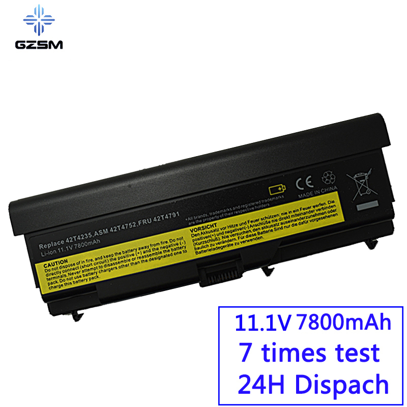 GZSM Laptop Battery T410 For Lenovo  W510 T510 T410 T420 E40 E50 L410 L420 L421 L510 L512 L520 SL410  SL510  T520  W520  Battery