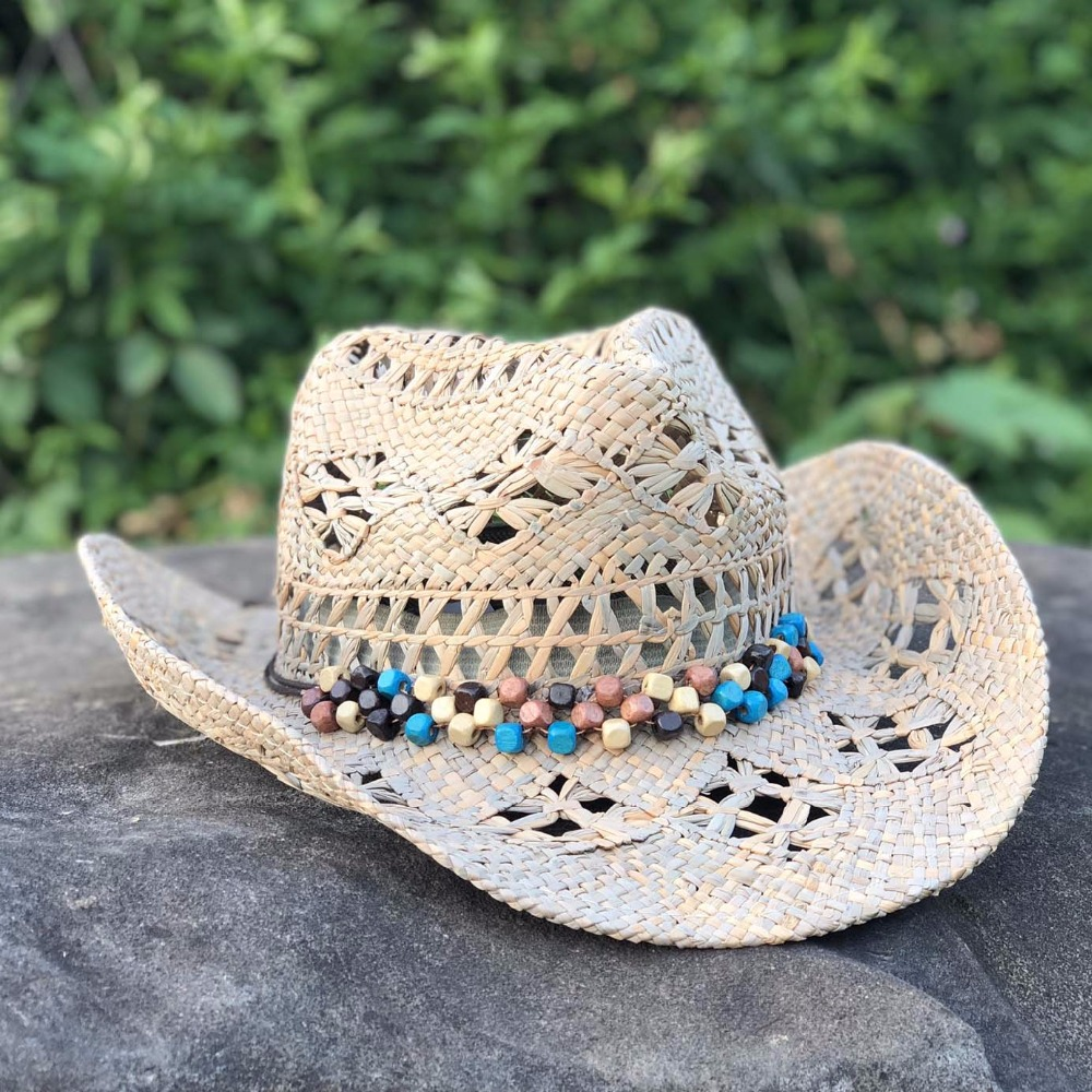 Hand Made Beach Felt Cowboy Hat 4