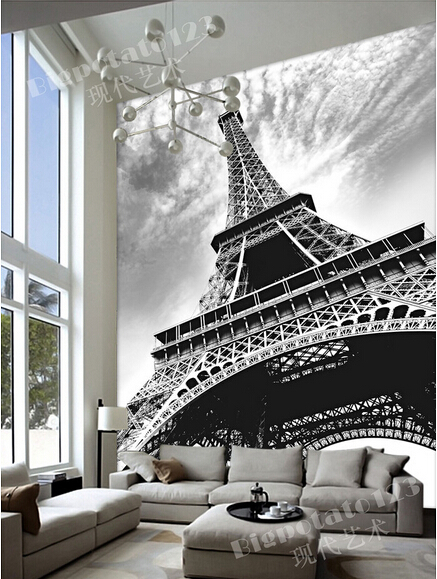 Individuelle Fototapeten Eiffelturm Wandbilder Fur Wohnzimmer Esszimmer TV Einstellung Zimmer Badezimmer Innenwand Tapete