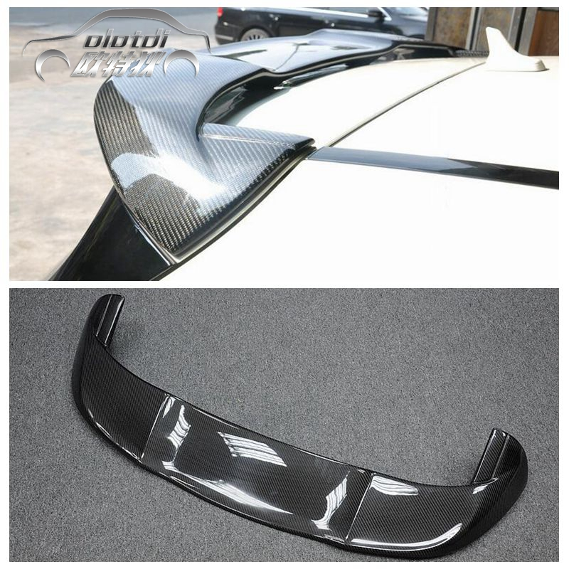 2013-17 for Mercedes A Class W176 A45 AMG A180 A200 A250 A260 Carbon Fiber Rear Spoiler Roof Wing Performance Style 2013+ mercedes w176 carbon fiber rear bumper canards for benz a class a45 amg package 2012 rear air dam trimming