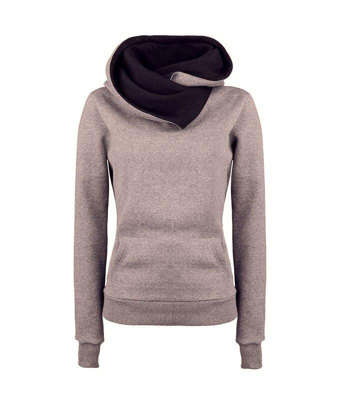 falacs zozo 2016 женщины повседневная твердые толстовки мужская нагрудные капюшоном новый кофты пуловеры с отложным воротником